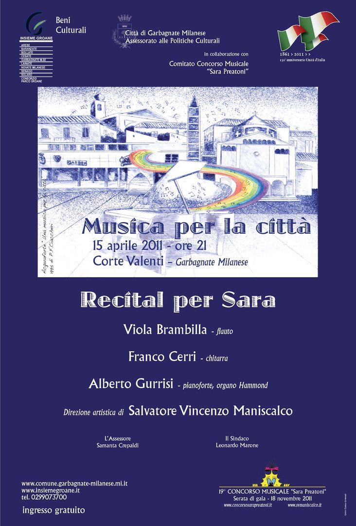 Recital per Sara 2011