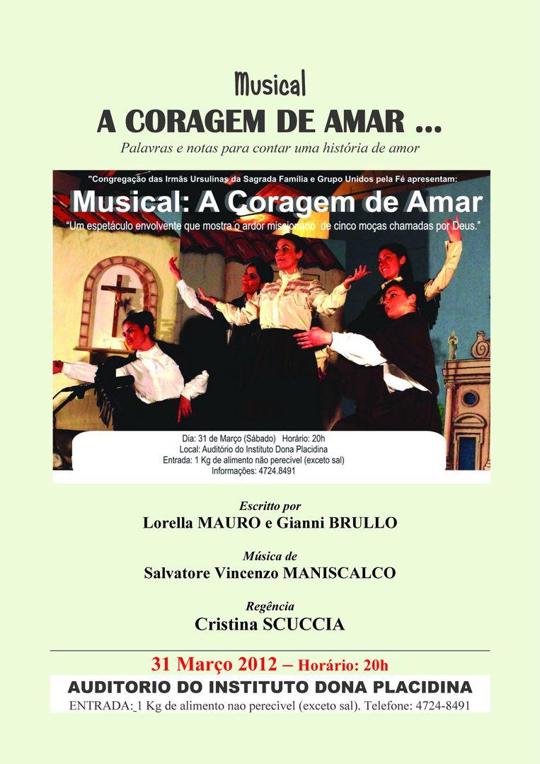 Il coraggio di amare (3)-Locandina Brasile
