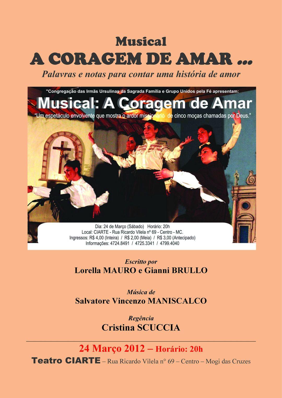 Il coraggio di Amare (2)-Locandina Brasile