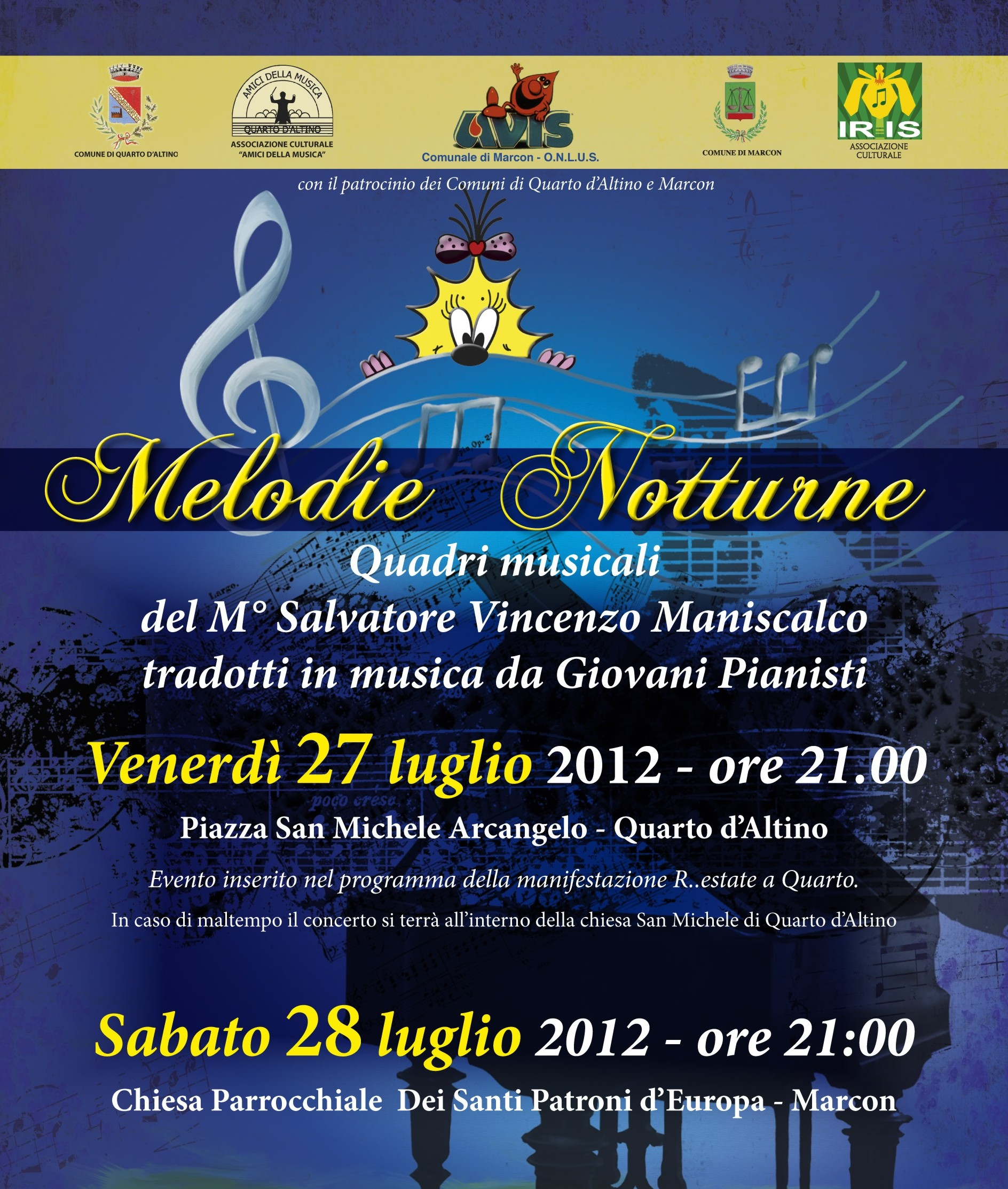 Melodie notturne-Quadri musicali
