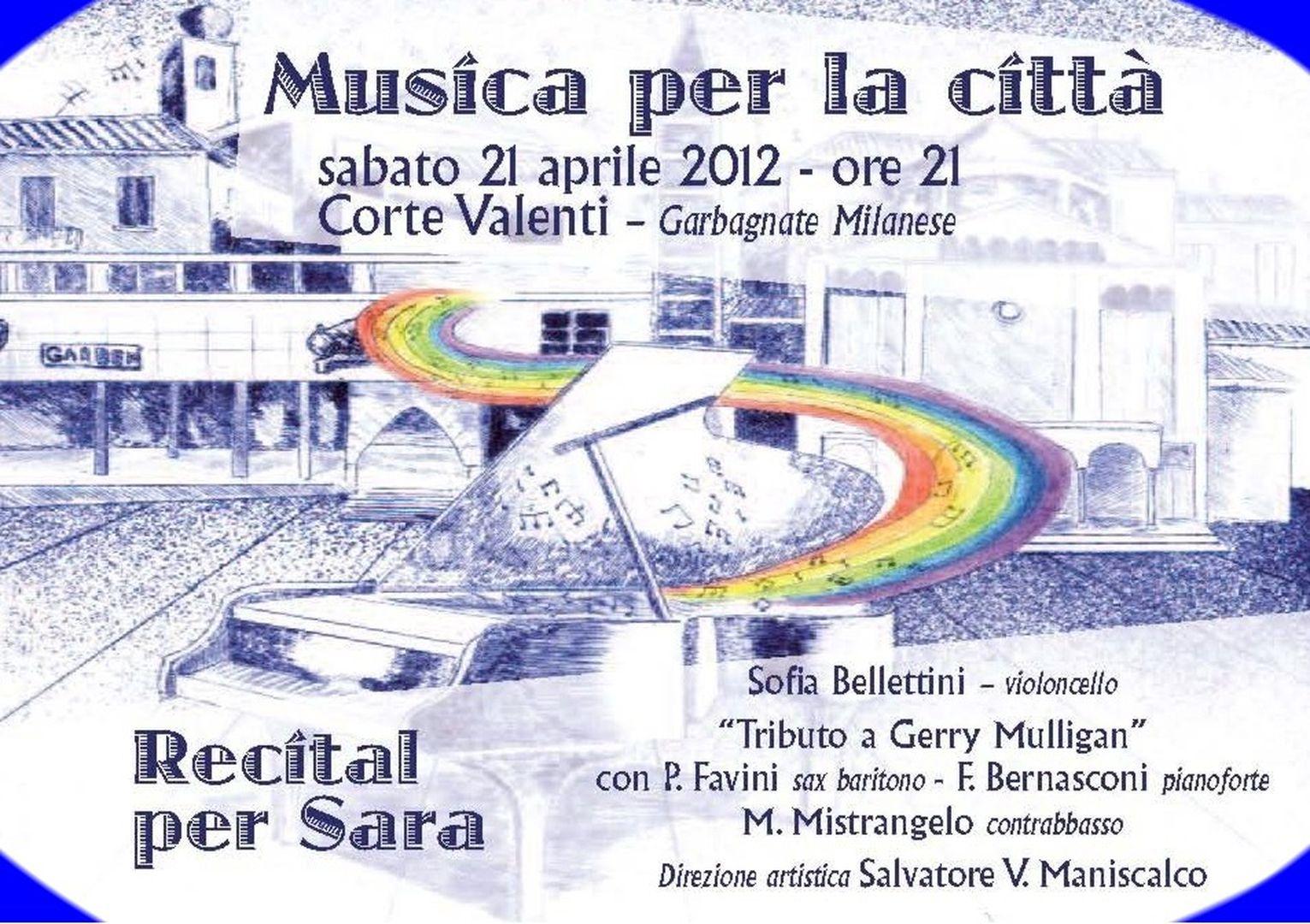 Recital per Sara 2012